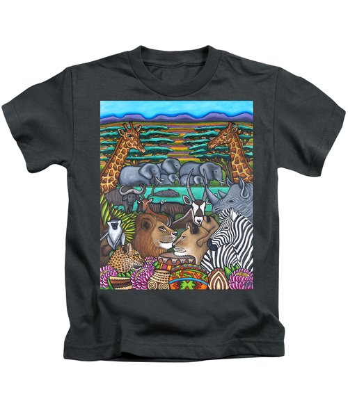Colours Of Africa Kids T-Shirt