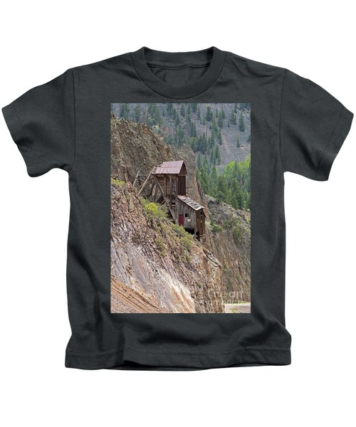 Commodore Mine On The Bachelor Historic Tour Kids T-Shirt