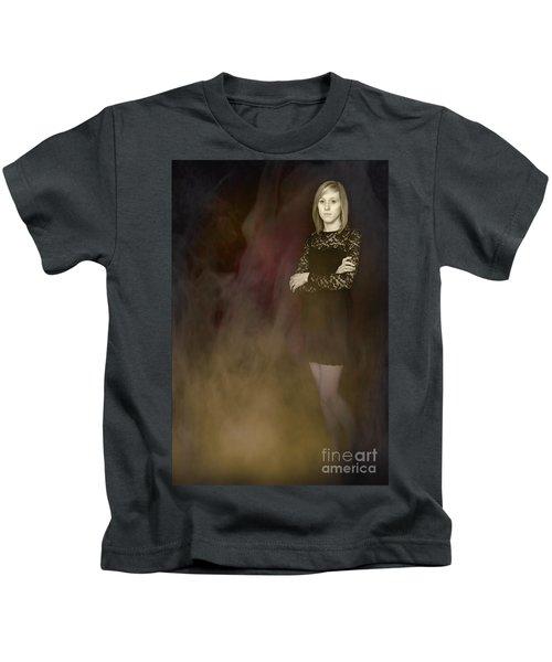 Fantasy Portrait Kids T-Shirt