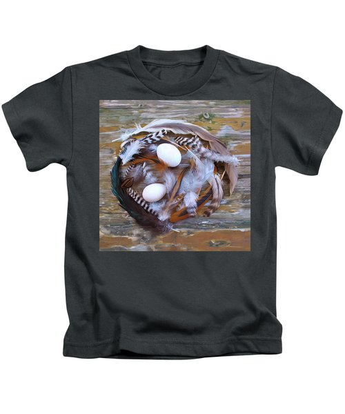 53. Feather Wreath Can Be Ordered Kids T-Shirt