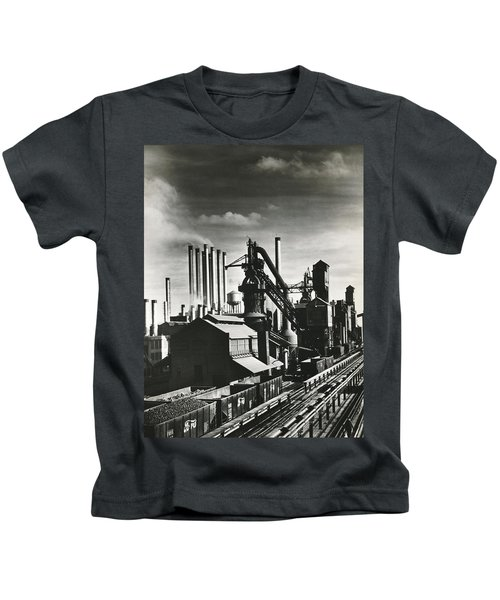 Ford's River Rouge Plant Kids T-Shirt