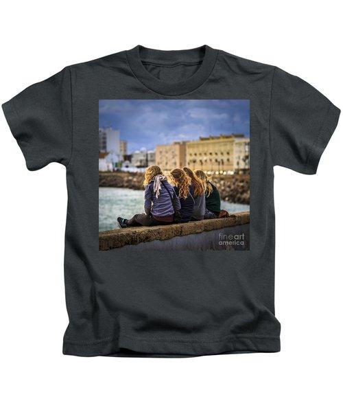 Foreign Students Cadiz Spain Kids T-Shirt