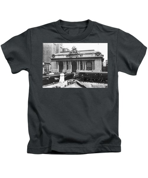 Grand Central Station Kids T-Shirt
