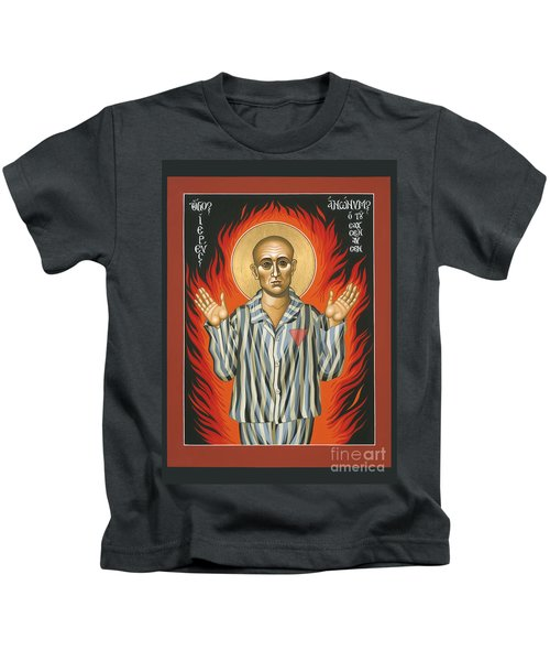 Holy Priest Anonymous One Of Sachsenhausen 013 Kids T-Shirt