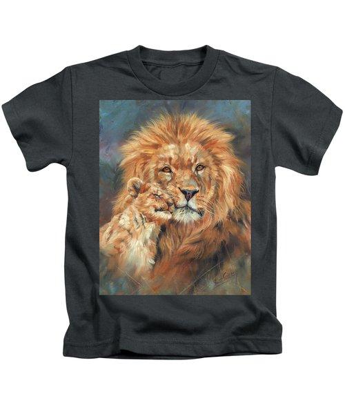 Lion Love Kids T-Shirt