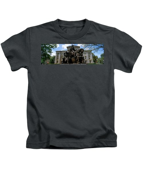 Low Angle View Of Statue Kids T-Shirt
