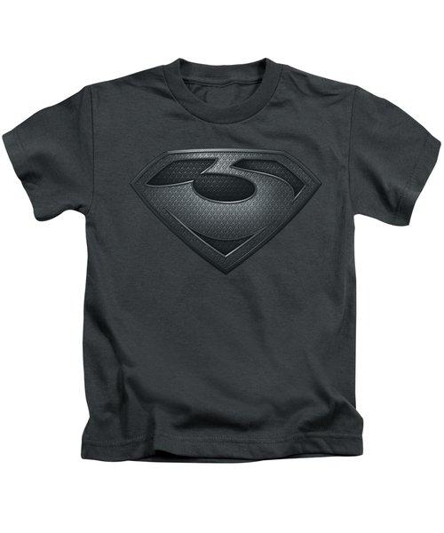 Man Of Steel - Zod Shield Kids T-Shirt