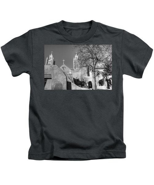 Mission In Black And White Kids T-Shirt