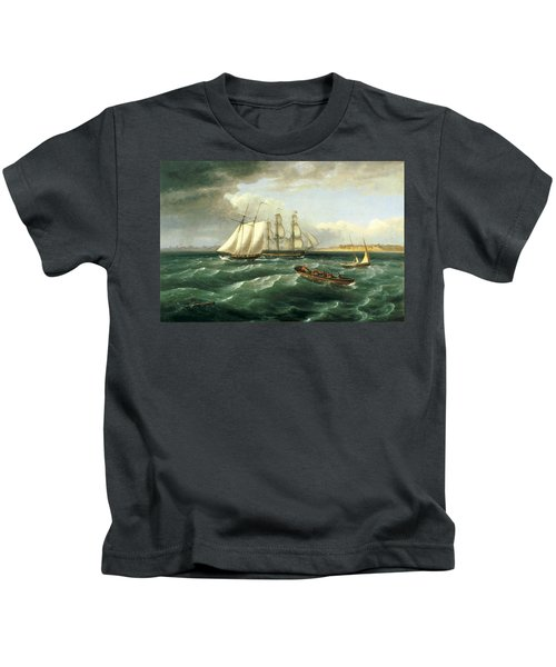 Mouth Of The Delaware Kids T-Shirt