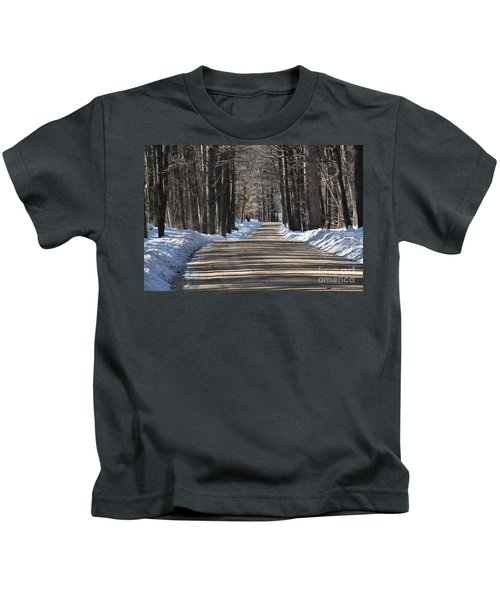 Nh Back Roads Kids T-Shirt