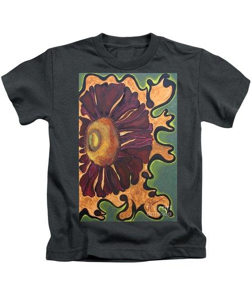 Old Fashion Flower Kids T-Shirt
