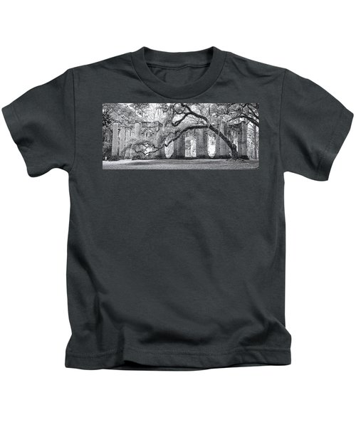 Old Sheldon Church - Side View Kids T-Shirt