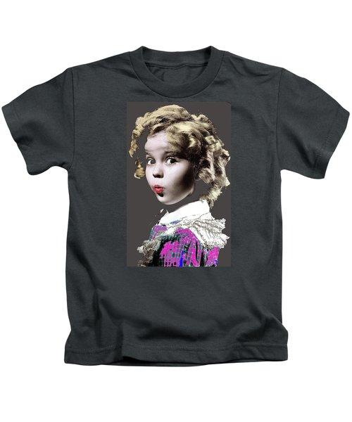 Shirley Temple Publicity Photo Circa 1935-2014 Kids T-Shirt by David Lee Guss