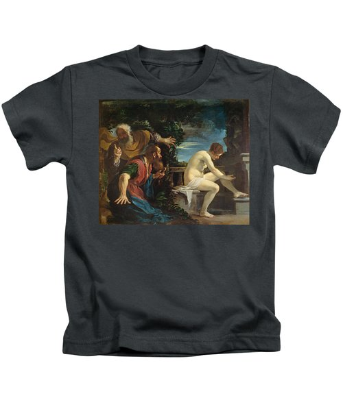 Susanna And The Elders Kids T-Shirt