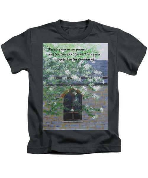 Sympathy Card With Church Kids T-Shirt