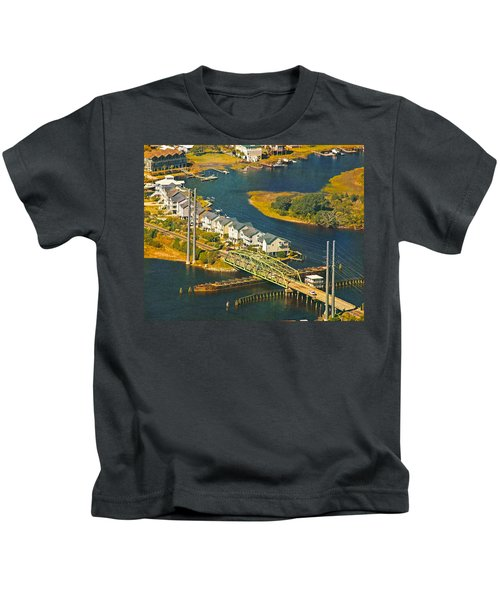 Ti Swing Bridge Evening Kids T-Shirt