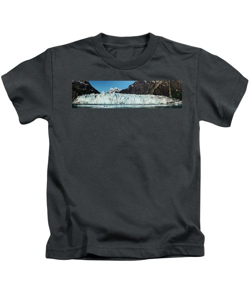View Of Margerie Glacier In Glacier Bay Kids T-Shirt