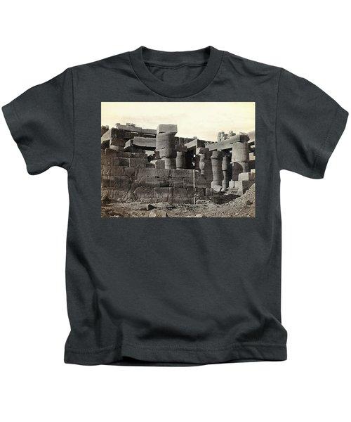 Egypt Karnak Ruins Kids T-Shirt
