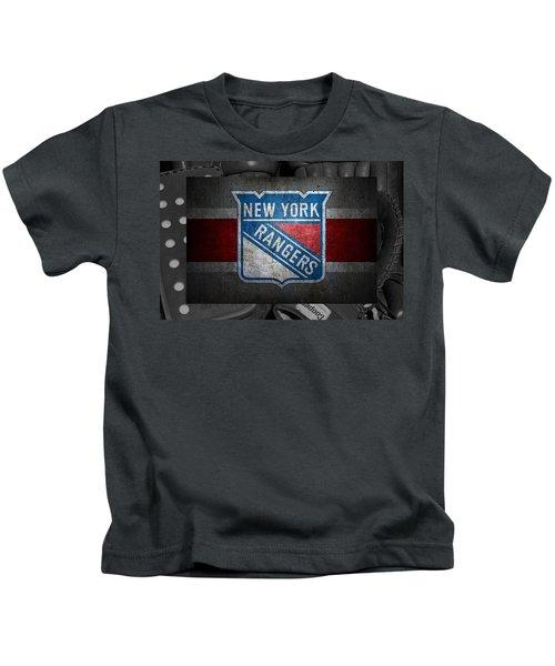 New York Rangers Kids T-Shirt