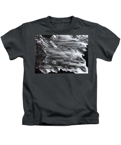 Flowing Water Kids T-Shirt