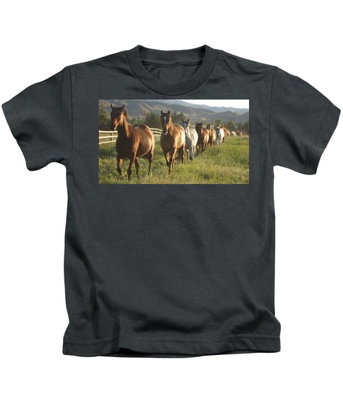 Montana  Big Sky Kids T-Shirt