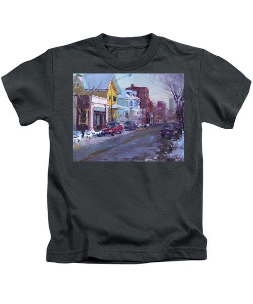 149 Elmwood Ave Savoy Kids T-Shirt