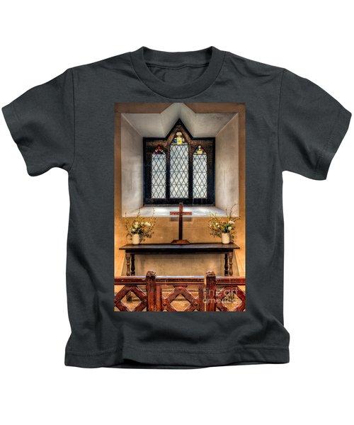 14th Century Chapel Kids T-Shirt