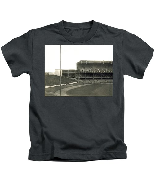 1923 Yankee Stadium Kids T-Shirt by Underwood Archives