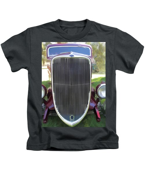 1933 Ford Grille Kids T-Shirt