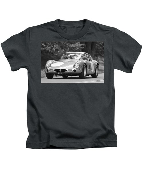 Kids T-Shirt featuring the photograph 1963 Ferrari 250 Gto Scaglietti Berlinetta by Jill Reger