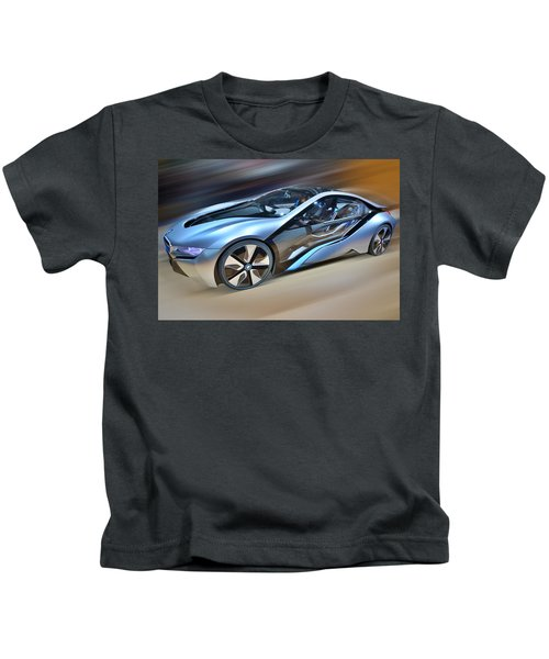 B M W  Edrive I8  Concept  2014 Kids T-Shirt