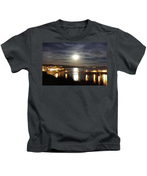 Capitola Moonscape Kids T-Shirt