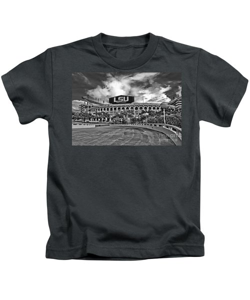 Death Valley - Hdr Bw Kids T-Shirt