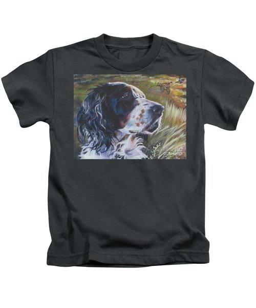 English Setter Kids T-Shirt