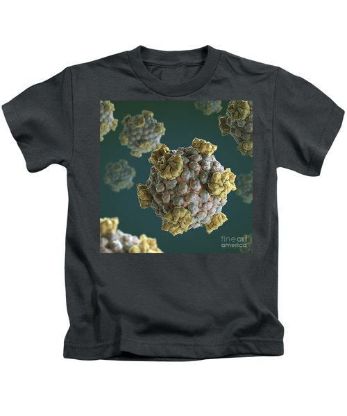 Reovirus Core Kids T-Shirt