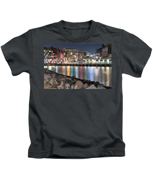 Third Street Bridge Kids T-Shirt