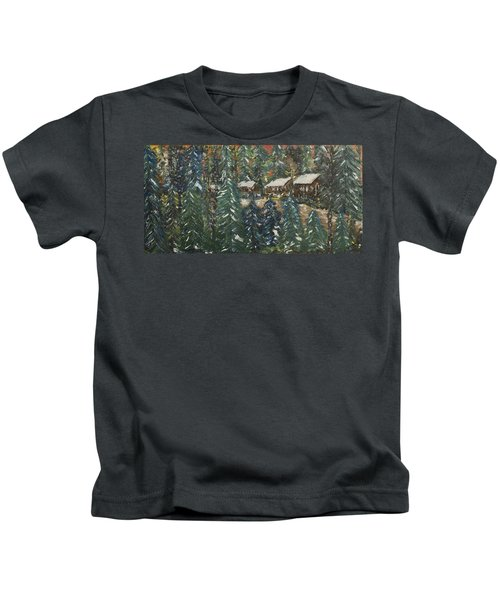 Winter Has Come To Door County. Kids T-Shirt