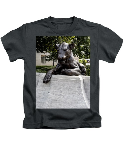At The National Law Enforcement Officers Memorial In Washington Dc Kids T-Shirt