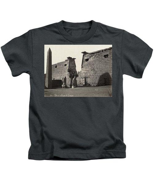 Egypt Luxor Temple Kids T-Shirt