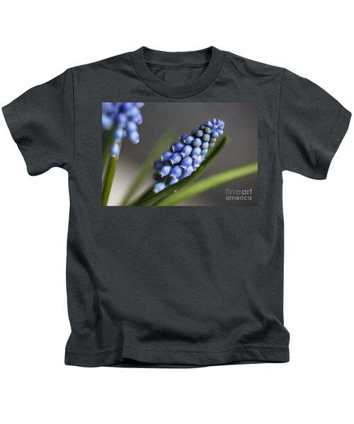 Grape Hyacinth Kids T-Shirt
