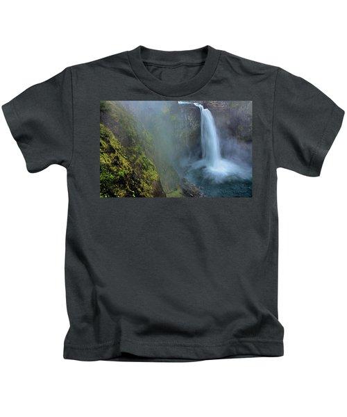 Snoqualmie Falls Kids T-Shirt