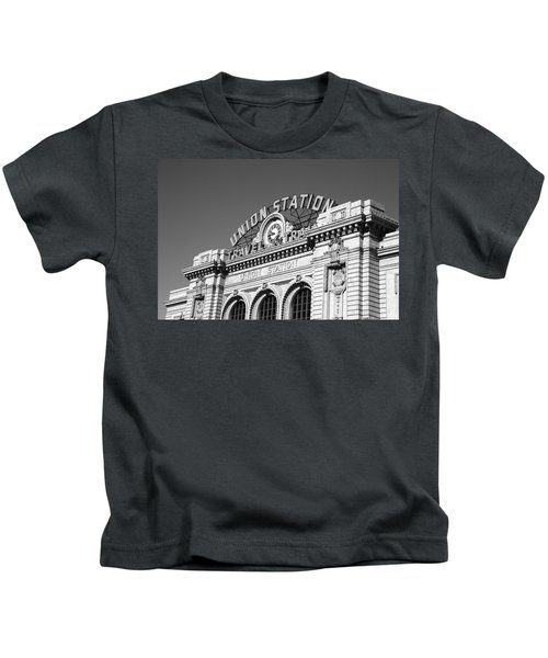 Denver - Union Station Kids T-Shirt