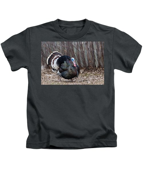 Strutting Turkey Kids T-Shirt