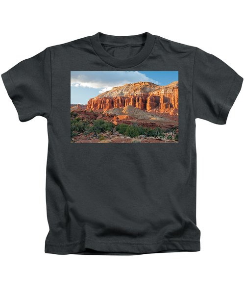 The Goosenecks Capitol Reef National Park Kids T-Shirt