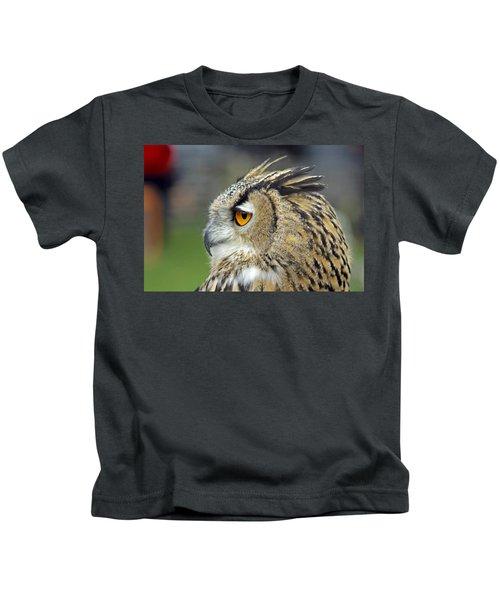 European Eagle Owl Kids T-Shirt