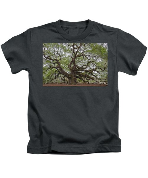 Sc Angel Oak Tree Kids T-Shirt