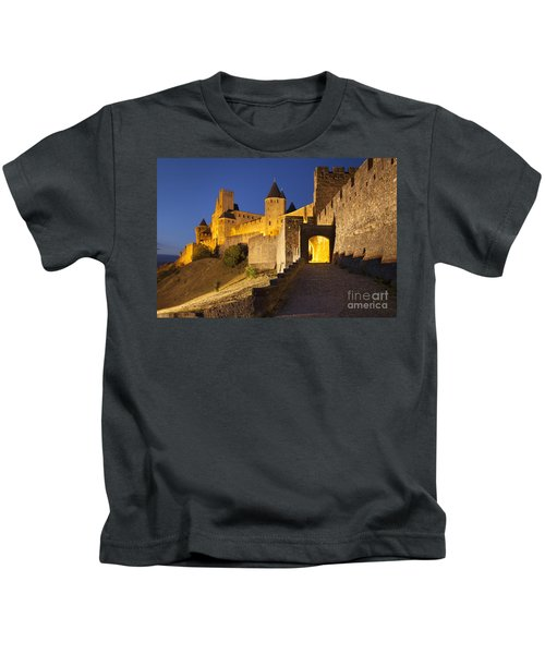 Medieval Carcassonne Kids T-Shirt