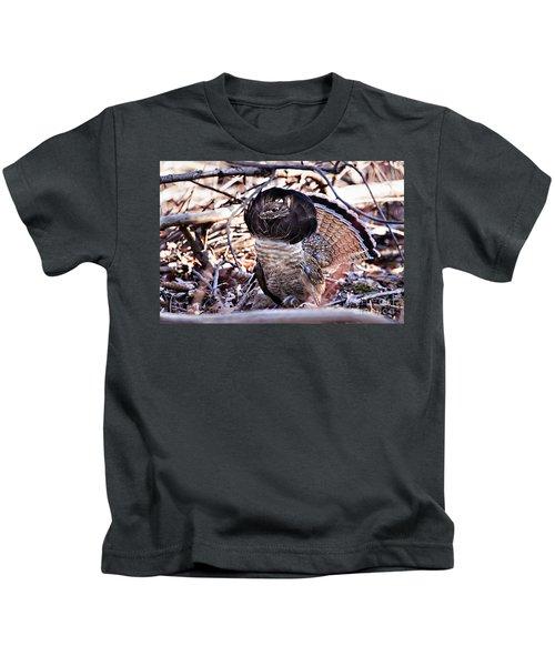 Ruffed Grouse Kids T-Shirt
