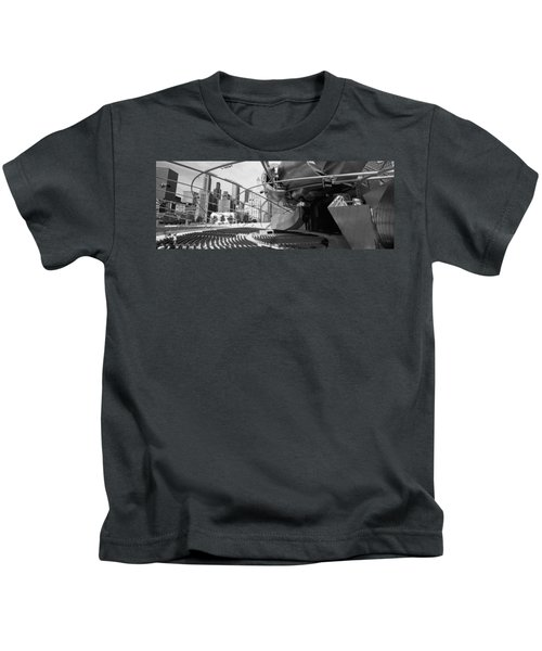 Low Angle View Of Buildings In A City Kids T-Shirt