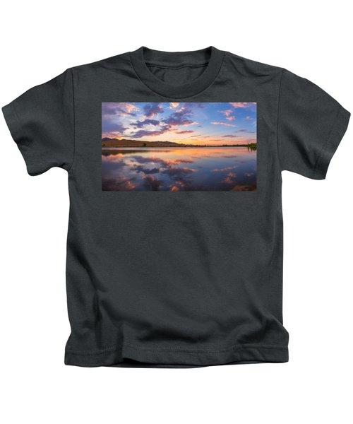 8 Dollar Sunset Kids T-Shirt
